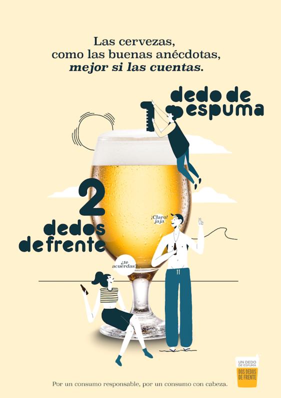 Las cervezas, como las buenas anécdotas, mejor si las cuentas.